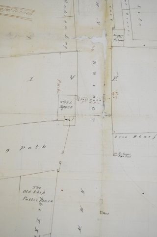 Map of 1843 showing the toll house | Hertfordshire Archives & Local Studies (DE/Cr/17)