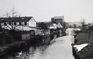 Towards Crane Mead, 1969 | Hertfordshire Archives & Local Studies (Acc 5709)