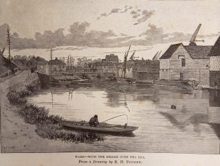 19th century drawing by Edward Hubert Fitchew | Hertfordshire Archives & Local Studies (Gerish Collection)