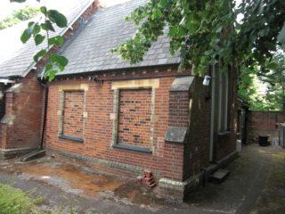 Part of the old school building | Geoff Cordingley 2017