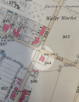 Musley School, Ware | 1880 OS map, Herts Archives