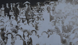 Musley School, Ware | 1910 coronation picnic at Presdales, Herts Archives Off Acc 1378