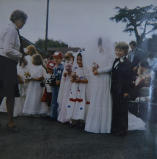 Musley School, Ware | Celebrating the royal wedding in 1981, Herts Archives Off Acc 1378