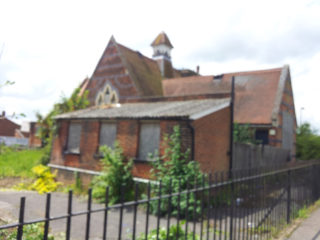 Musley School, Ware | Derelict in 2014, S Williams