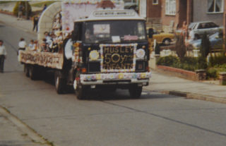 Musley School, Ware | The school's carnival float Kingsway, 1982, Herts Archives Off acc 1378