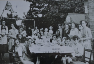 Musley School, Ware | Coronation tea, 1953, Herts Archives Off Acc 1378