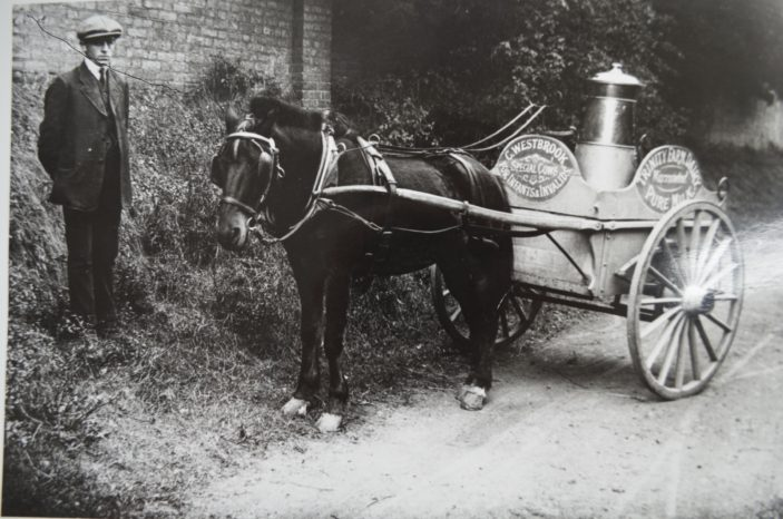 C Westbrook of Trinity Farm, 1913   Herts Archives Local studies Collection