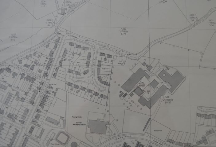 OS map, 1970s   Herts Archives