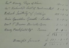 Restoration of St Leonard's Church, 1883-89 Committee Meeting No 3