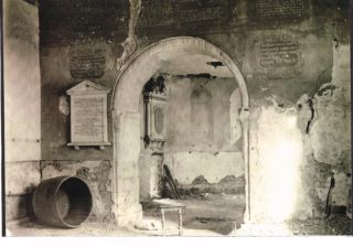 St Leonard's Church before restoration c 1870