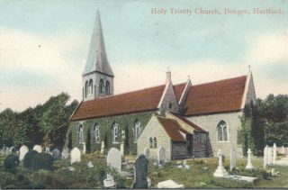 Holy Trinity Church, Bengeo | Hertfordshire Archives and Local Studies