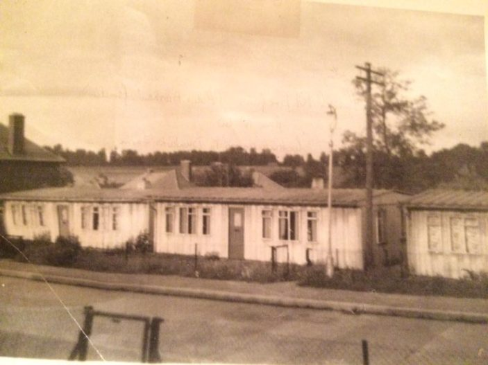 Horns Mill Prefabs about 81-85 Cecil Road circa 1960. | Eric Riddle