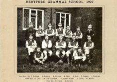 Hertford Grammar School,  1927.