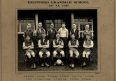 Hertford Grammar School 1st XI., 1930