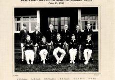 Hertford Grammar School Cricket Club, Colts XI. 1930