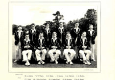 Hertford Grammar School 1st XI Cricket Team, 1955