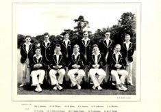 Hertford Grammar School 1st XI Cricket Team, 1955