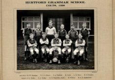 Hertford Grammar School Colts 1930