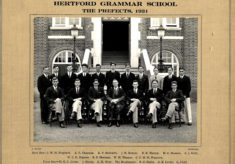 Hertford Grammar School The Prefects, 1931