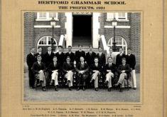 Hertford Grammar School The Prefects, 1931
