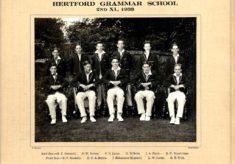 Hertford Grammar School, 2nd XI., 1933