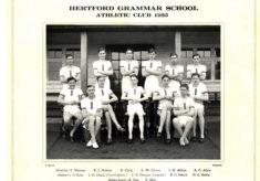 Hertford Grammar School Athletics Club 1935