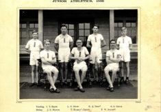 Hertford Grammar School Junior Athletics, 1936