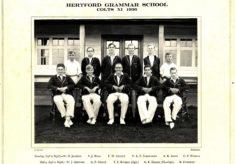 Hertford Grammar School Colts XI 1936