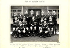 Hertford Grammar School 1st XV Season 1937-38