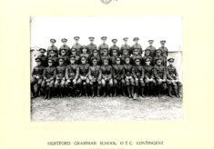 Hertford Grammar School O.T.C. Contingent Oxney Camp 1938