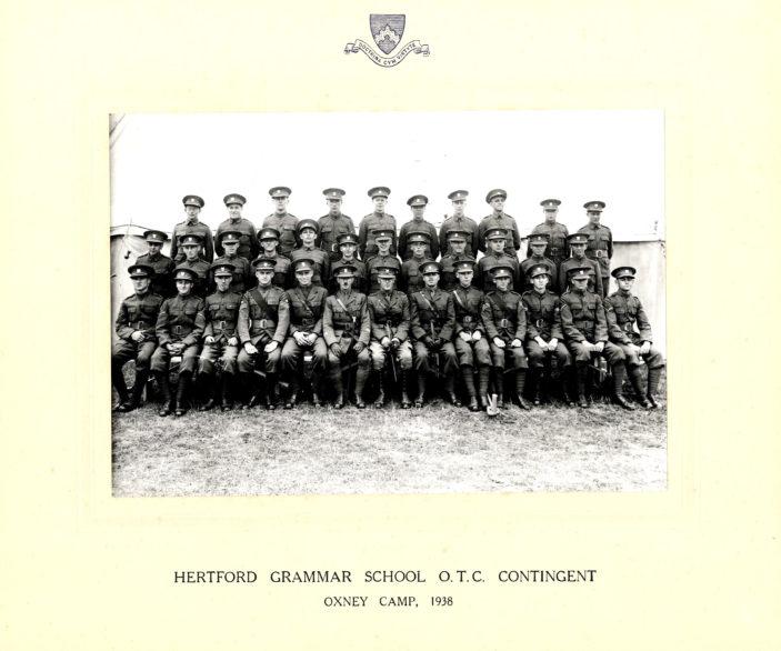 Hertford Grammar School O.T.C. Contingent Oxney Camp 1938 | Richard Hale School Archive