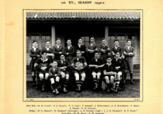 Hertford Grammar School R.F.C. First XV., Season 1940-41