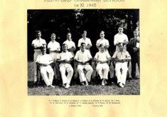 Hertford Grammar School 1st XI, 1945