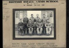 "British Small Arms School No. 1 Squad ""A"" Platoon Feb - Mar 1946"