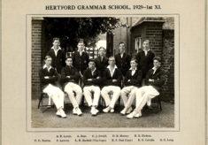 Hertford Grammar School, 1929 - 1st XI.