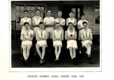 Hertford Grammar School Athletic Club, 1948.