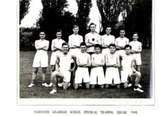 Hertford Grammar School Physical Training Squad 1948