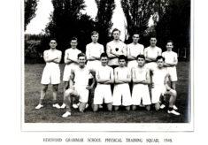 Hertford Grammar School Physical Training Squad 1948