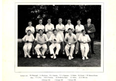 Hertford Grammar 1st XI Cricket Team, 1948