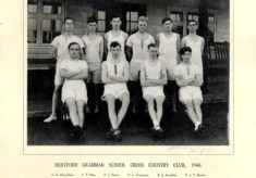 Hertford Grammar School Cross Country Team, County Champions 1948.