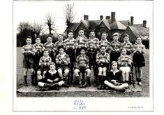 Hertford Grammar School Colts Rugby Team,  circa 1949
