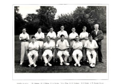 Hertford Grammar School 1st XI Cricket Team, 1949