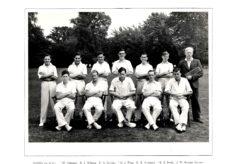Hertford Grammar School 1st XI Cricket Team, 1949