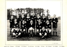 Hertford Grammar School Colts XV, 1950.
