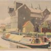 Watercolour of the Lea at Ware