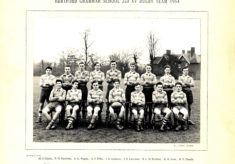 Hertford Grammar School 2nd XV Rugby Team, 1954