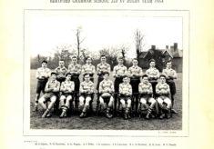 Hertford Grammar School 2nd XV Rugby Team, 1954
