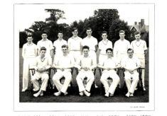 Hertford Grammar School 2nd XI Cricket Team, 1954