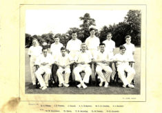 Hertford Grammar School Colts XI Cricket Team 1955