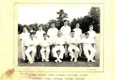Hertford Grammar School Colts XI Cricket Team 1955